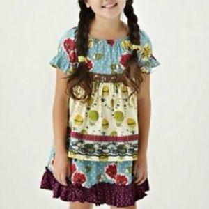 Matilda Jane Apron Dress 2 balloons homegrown